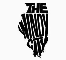 Chicago: The Windy City Black Unisex T-Shirt