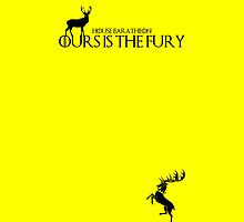 House Baratheon: Ours is the Fury - House Color by Zahaidies