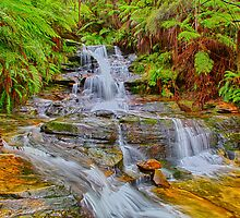 Upper Leura Cascades by renekisselbach