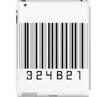 Cosima's barcode  iPad Case/Skin