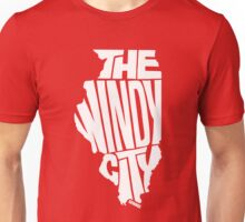 Chicago: The Windy City White Unisex T-Shirt