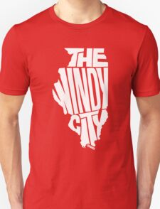 Chicago: The Windy City White T-Shirt