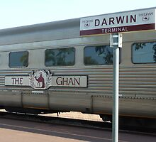 The Ghan at Darwin Station by DashTravels