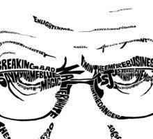 Heisenberg   Walter White from Breaking Bad Sticker