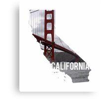California - Golden Gate Bridge Canvas Print