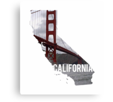 California - Golden Gate Bridge Canvas Print