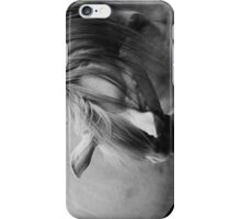 Quarter Horse Black and White iPhone Case/Skin