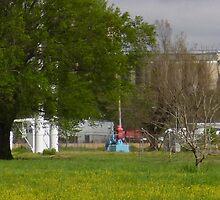 Mill And Pump by WildestArt