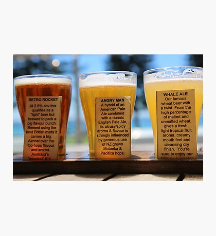 Murray's Best Beer at Manly Australia Photographic Print