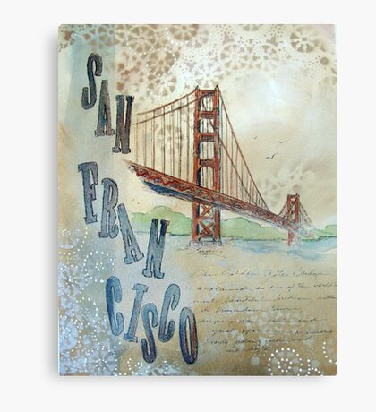SAN FRANCISCO Metal Print