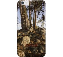 Sunset landscape iPhone case iPhone Case/Skin