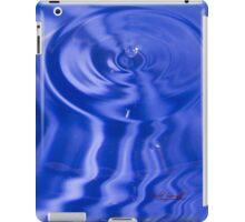Blue Water Drop iPad Case iPad Case/Skin