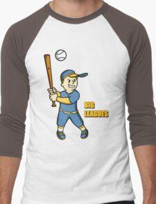 Big Leagues Men's Baseball ¾ T-Shirt
