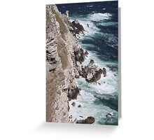 Cape Point South Africa Greeting Card