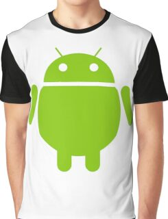 Fat Android Graphic T-Shirt