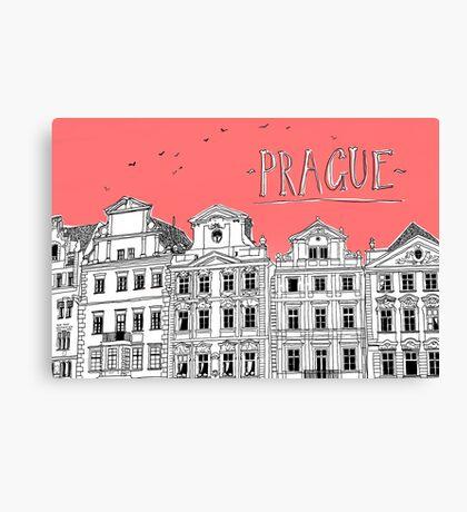 Prague. Canvas Print