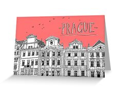 Prague. Greeting Card