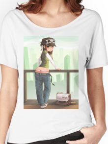 Cap Cutie Women's Relaxed Fit T-Shirt