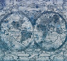 world map antique by BekimART