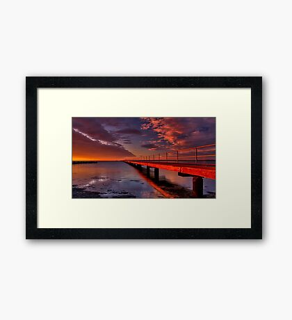 """To Infinity"" Framed Print"