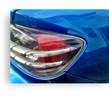 Blue RX-8 2 Canvas Print