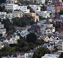 San Francisco, California by ronda chatelle