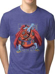 THIS IS MANGA - JINBEI SPLATTER 01 Tri-blend T-Shirt