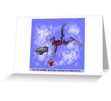 Get the Almanac, wipe away the debt (Daytime Alt) Greeting Card