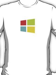 Windows 8 Modern Colour Logo (Larger) T-Shirt
