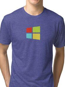 Windows 8 Modern Colour Logo (Larger) Tri-blend T-Shirt