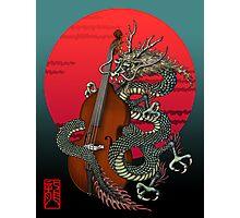Dragon Contrabass Photographic Print