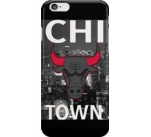 "Chicago Bulls ""Chi Town""  iPhone Case/Skin"