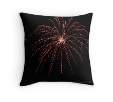 Pops on the River - Six Throw Pillow