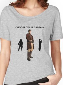 Choose Your Captain : Mal Reynolds Edition Women's Relaxed Fit T-Shirt