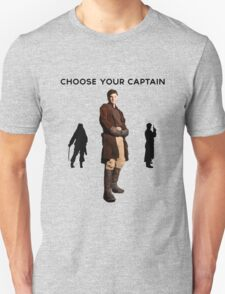 Choose Your Captain : Mal Reynolds Edition T-Shirt