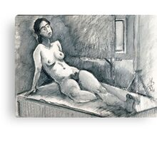 Marie Lise As Odalisque Canvas Print