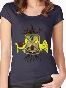 Lemongrab Coat-of-Arms Women's Fitted Scoop T-Shirt