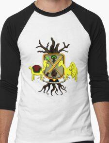 Lemongrab Coat-of-Arms Men's Baseball ¾ T-Shirt