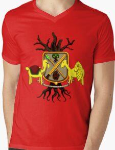 Lemongrab Coat-of-Arms Mens V-Neck T-Shirt