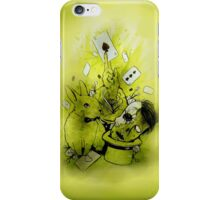 Zombie magic iPhone Case/Skin