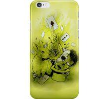 Zombie magic iPhone Case/Skin