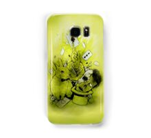 Zombie magic Samsung Galaxy Case/Skin