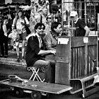 Buskers in Aix en Provence, France by KarenLindale