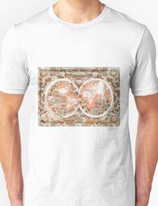 world map antique 2 T-Shirt