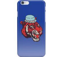 tiger hat iPhone Case/Skin