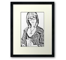Truly innocent Framed Print