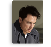 Captain Jack Harkness Canvas Print