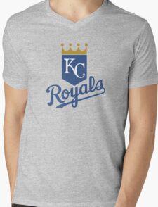 Kansas City Royals Mens V-Neck T-Shirt