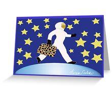 Moon Woman Greeting Card