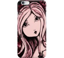 Saschia Sparkleberry - Mulberry iPhone Case/Skin